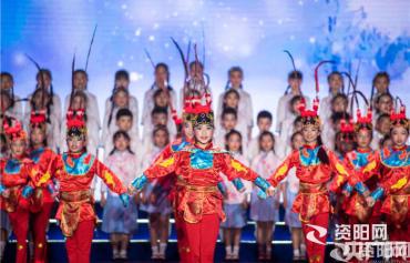 """""""我们的节日·中秋""""中华经典诵读比赛在四川资阳举行"""