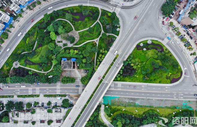 """【图集】 """"园""""满资阳—城在绿中人居景里"""