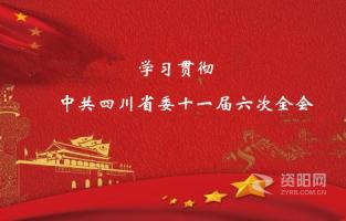 安岳縣委傳達學習(xi)省(sheng)委十一(yi)屆六次全會精神