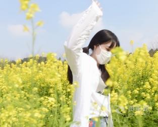 視頻︰資色(se)·打卡(ka)資陽——沱江河畔的油菜花