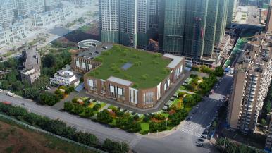 資(zi)陽首座新型智慧農貿市場將于(yu)2021年春節前投用