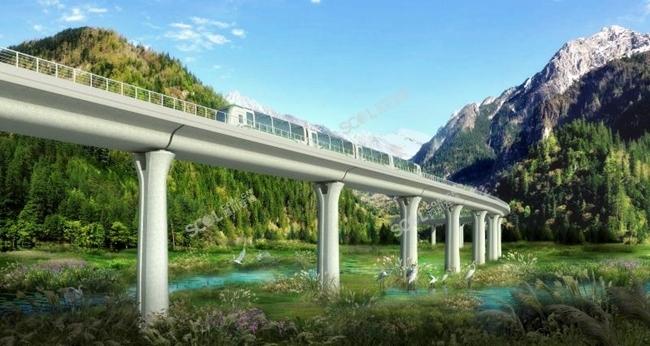 全国首条山地轨道交通项目来了