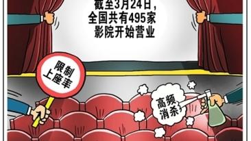 近500家影院重启,线下观影模式如何求变?