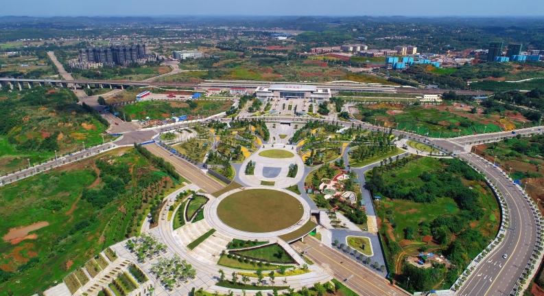 雁江全力打造区域综合交通枢纽