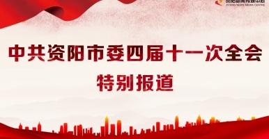 中共资阳市委四届十一次全会特别报道