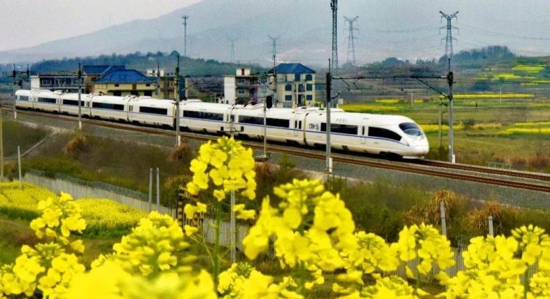 图集  美!开往春天的列车来啦