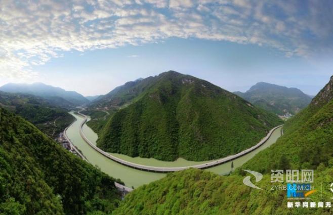 """航拍兴山""""水上公路"""":三峡库区的生态画廊"""