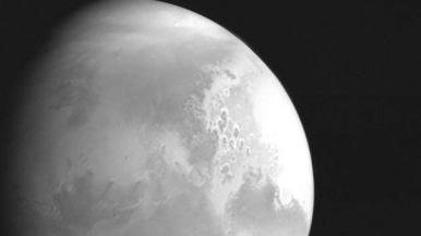 天问一号成功在火星落脚!