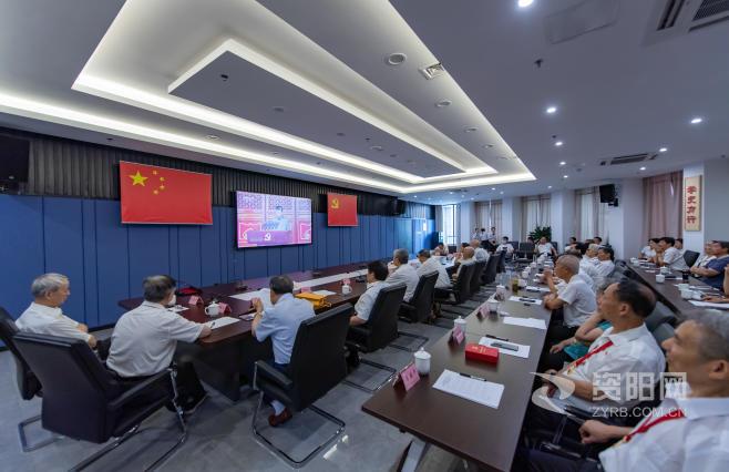 图集  市委老干部局组织离退休干部集中观看庆祝中国共产党成立100周年大会