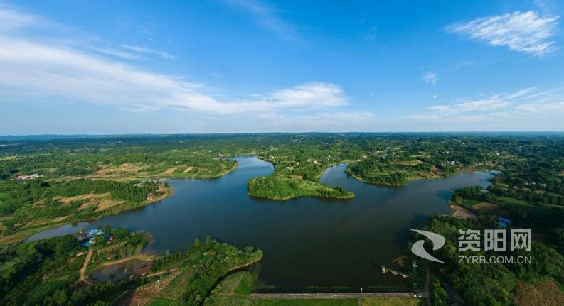 【图片】雁江区鄢家桥水库水环境质量得到改善